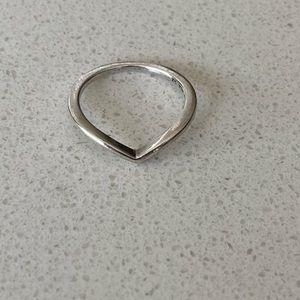 Pandora Wishbone Ring Sz 52